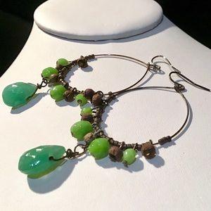 🎁Large Chalcedony Earrings